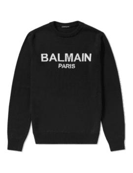 Balmain Paris Crew Knit by End.