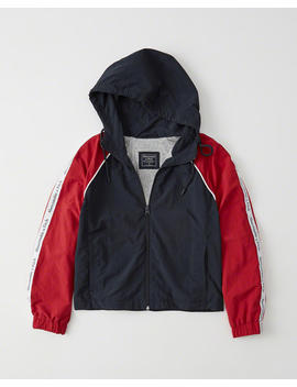 Full Zip Windbreaker by Abercrombie & Fitch