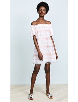 Tereza Ruffle Neck Dress by Lemlem