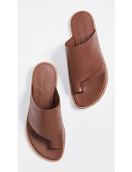 Edris Toe Ring Slide Sandals by Vince