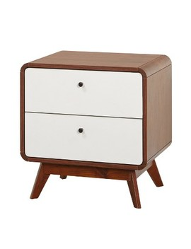 Cassie Nightstand   Walnut   Buylateral by Buylateral