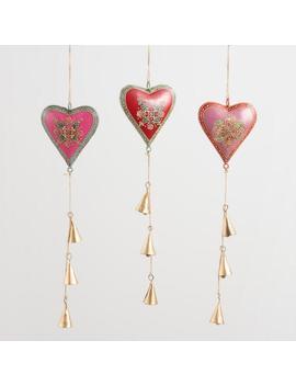 Iron Hearts Hanging Decor Set Of 3 by World Market
