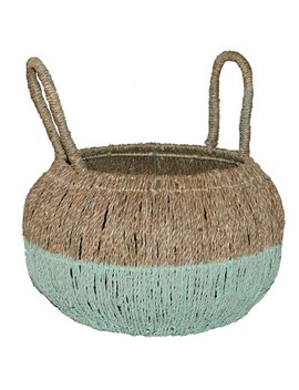 "16.5""X17"" Decorative Basket Natural Green   Opalhouse™ by Shop This Collection"