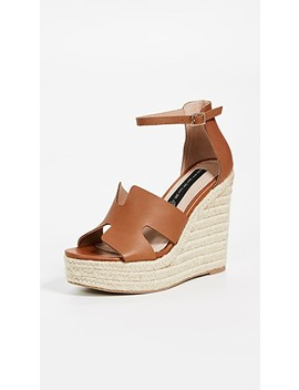 Sirena Wedge Espadrilles by Steven