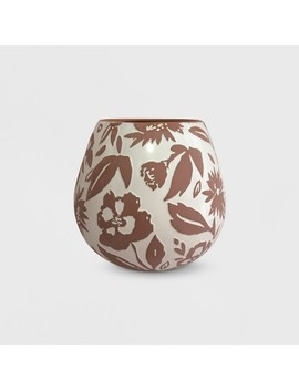 "13"" Textured Pattern Planter Terracotta   Opalhouse™ by Shop This Collection"