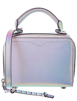 Rebecca Minkoff Iridescent Leather Box Crossbody by Rebecca Minkoff