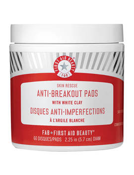 First Aid Beauty Skin Rescue Anti Breakout Pads With White Clay by First Aid Beauty