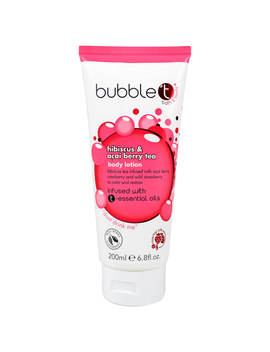 Bubble T Hibiscus And Acai Berry Tea Body Lotion (200ml) by Look Fantastic