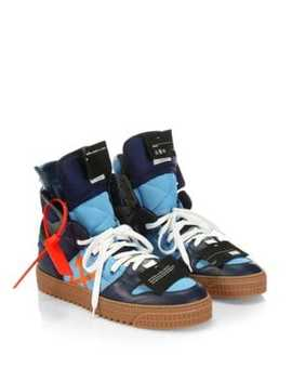 Off Court High Top Sneakers by Off White