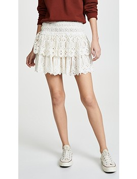Eyelet Miniskirt by Free People