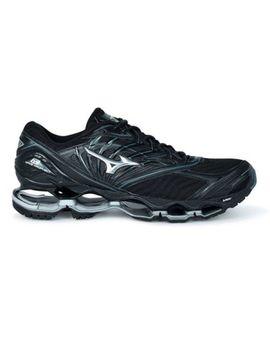 Mizuno Wave Prophecy 8 Men Running Shoes J1 Gc190004 Black Silver 18 N by Ebay Seller