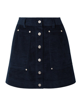 Pswl Cotton Corduroy Mini Skirt by Proenza Schouler