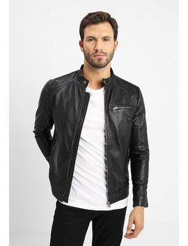 Classic Jacket   Lederjacke by Selected Homme