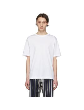 White Hob T Shirt by Dries Van Noten