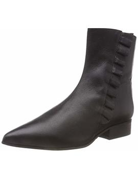 Selected Women's Slfalexia Leather Frills B Ankle Boots by Selected