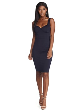 Sophisticated Style Midi Dress by Windsor