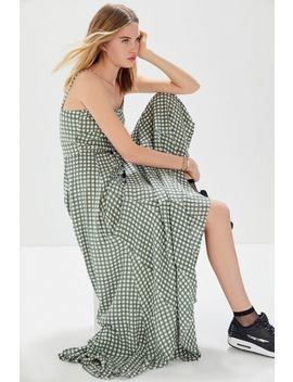 Auguste The Label Gingham Panelled Maxi Dress by Auguste The Label