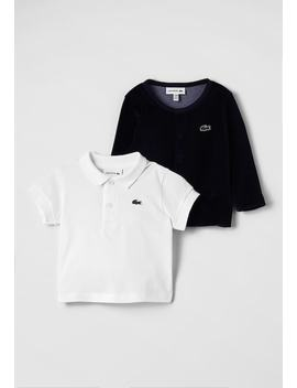 Set   Cardigan by Lacoste