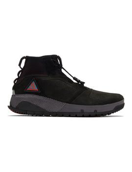Black Acg Ruckel Ridge Sneakers by Nike Acg