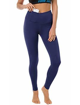 Firm Abs Women's Workout High Waist Leggings With Pocket Yoga Pants For Fitness by Firm Abs