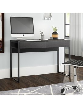 Orren Ellis Turville 2 Drawer Office Writing Desk & Reviews by Orren Ellis