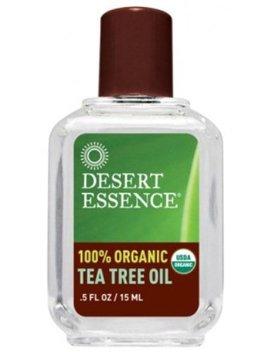 Desert Essence Organic Tea Tree Oil, 0.5 Ounce by Desert Essence