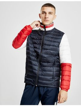 Tommy Hilfiger Colour Block Bubble Jacket by Tommy Hilfiger