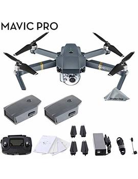 Dji Mavic Pro 4 K Quadcopter With Remote Controller, 2 Batteries, With 1 Year Warranty   Gray by Dji