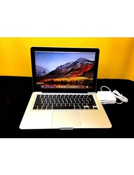 "Apple Mac Book Pro 13"" I5 2.90 Ghz 6 Gb 1 Tb Ssd Hybrid O Sx 2017   1 Year Warranty by Apple"