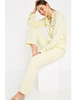 Uo Victory Lemon Yellow Boilersuit by Urban Outfitters