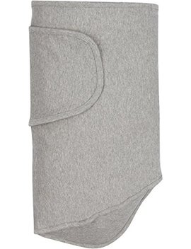 Miracle Blanket Swaddle, Solid Grey by Miracle Blanket