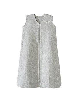 Halo Sleepsack 100 Percents Cotton Wearable Blanket, Heather Gray, Medium by Halo