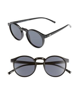 Teen Spirit Deaux 50mm Round Sunglasses by Le Specs