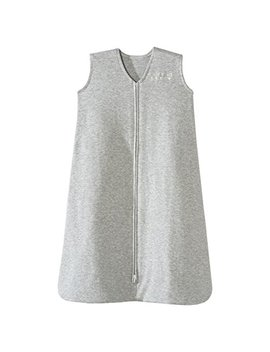 Halo Sleepsack Wearable Blanket 100 Percents Cotton, Heather Gray, Small by Halo
