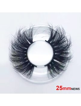 25mm Long 3 D Mink Lashes Long Lasting Mink Eyelashes Big Dramatic Volumn Eyelashes Strip Individual False Eyelash by Sexe Mara