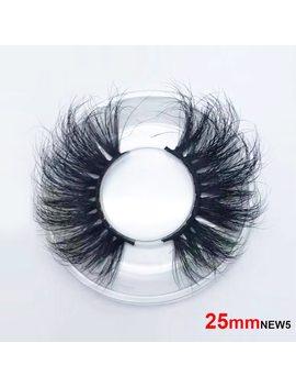 25mm Long 3 D Mink Lashes Long Lasting Mink Eyelashes Big Dramatic Volumn Eyelashes Strip Individual False Eyelash by Sexe Mara