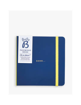 Busy B Password Book, Navy by Busy B