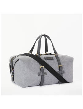 Ted Baker Knitts Wool Holdall, Grey by Ted Baker
