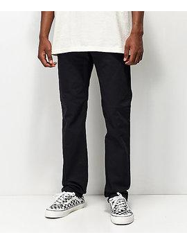 Levi's Skateboarding 511 Caviar Black Jeans by Levi's