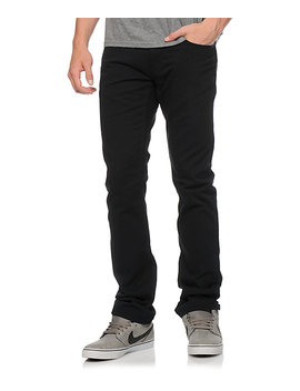 Free World Messenger 5 Pocket Twill Black Pants by Free World