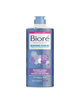 Biore Cleansing Micellar Water With Baking Soda 10 Fl Oz by Biore