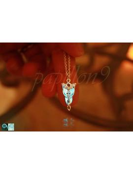 Angel Pendant Glow In The Dark / Sterling Silver Small Angel Necklace / by Etsy