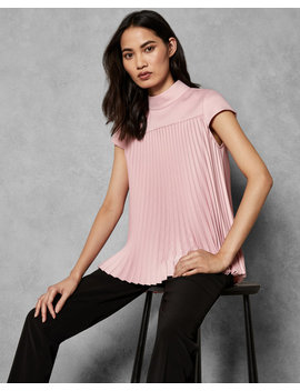 Pirouette Pleated Top by Ted Baker