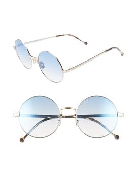 53mm Polarized Round Sunglasses by Cutler And Gross