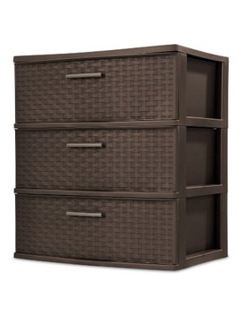 Sterilite® 3 Drawer Wide Tower by Sterilite