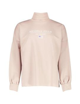 Beverly Hills Roll Neck Slogan Sweat by Boohoo