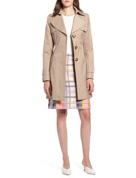 Hooded Trench Coat by Halogen®