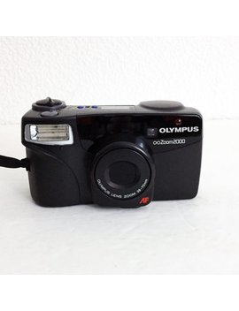 Vintage Olympus Zoom 2000 35mm Point Shoot Film Camera Tested Works Autofocus by Etsy