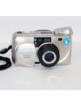 Vintage Olympus Stylus 140 35mm Point Shoot Film Camera Tested Works by Etsy