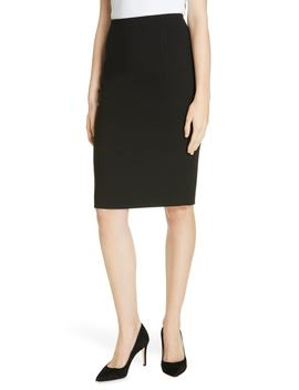 Virera Ponte Pencil Skirt by Boss